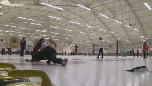 Jason Gunnlaugson still playing with first curling broom